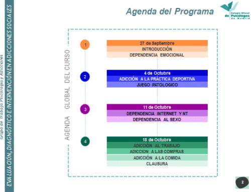Curso Evaluación, Diagnóstico e Intervención en Adicciones Sociales