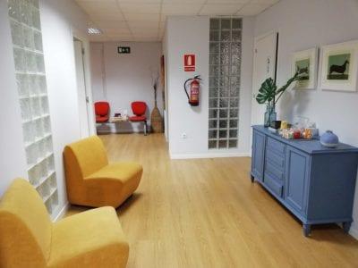 Orbium Madrid sala espera centro 1
