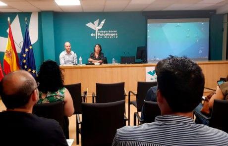 Curso Colegio Oficial Psicólogos de Madrid